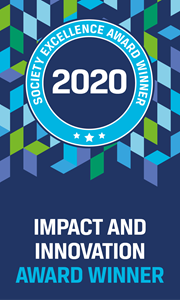 Impact an d Innovation Award Winner 2020