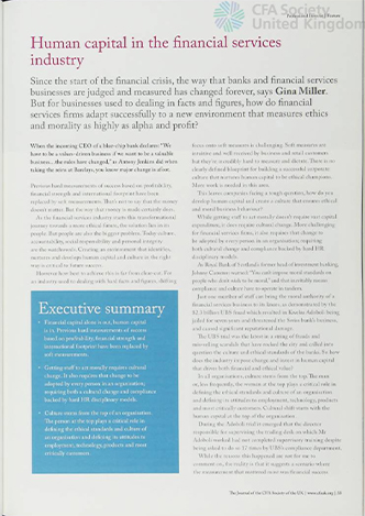 Gina Muller article on Professional Investor